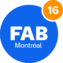 Donate section FAB16 logo